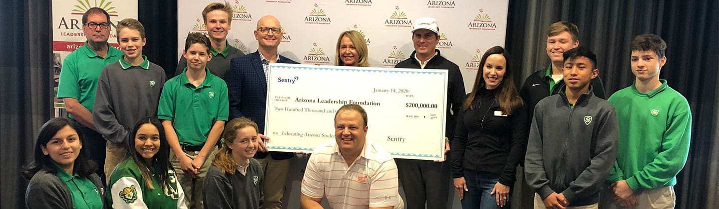 Arizona leadership foundation Sentry check