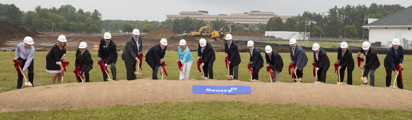 Sentry Insurance 1501 ground breaking